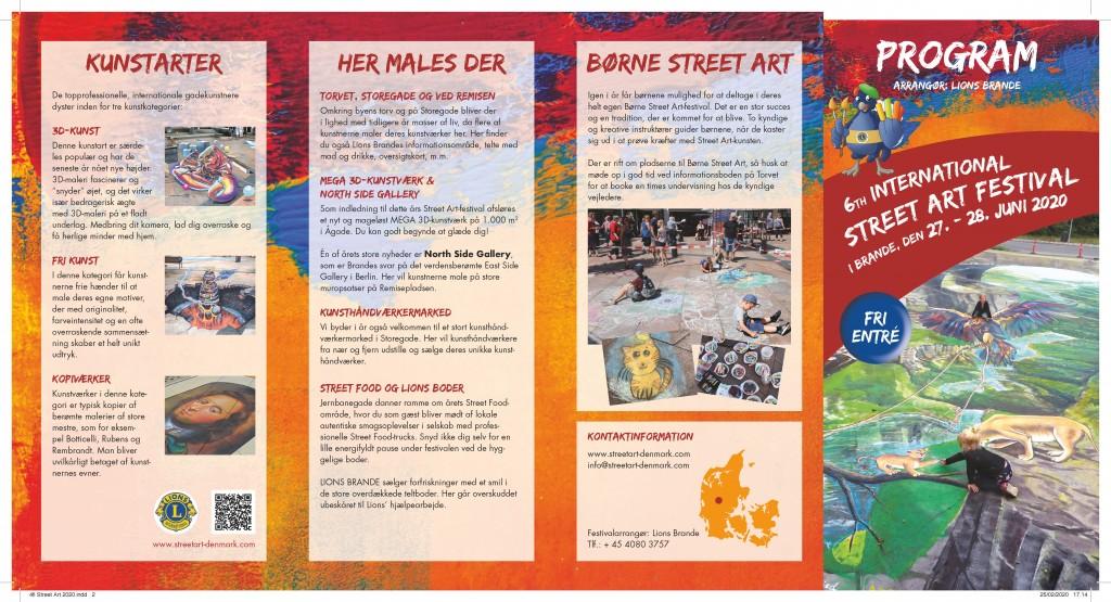 Nu kan du gå på opdagelse i Street Art-folderen 2020!