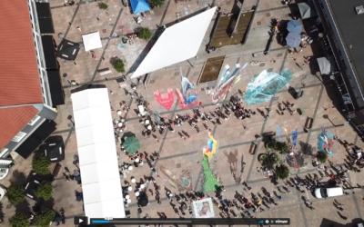 Nyd lige denne dronefilm fra Brandes Street Art-festival i 2019